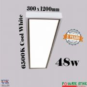 48 Watt 300 x 1200 mm Surface Mount LED Ceiling Panel lights